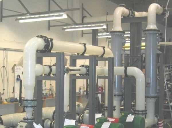 Трубопроводные системы ПВДФ  поливинилиденфторид