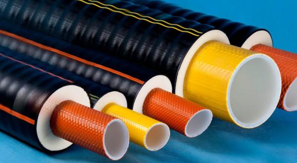 Теплоизолированные трубы  из полибутена FLEXALEN  (Флексален)